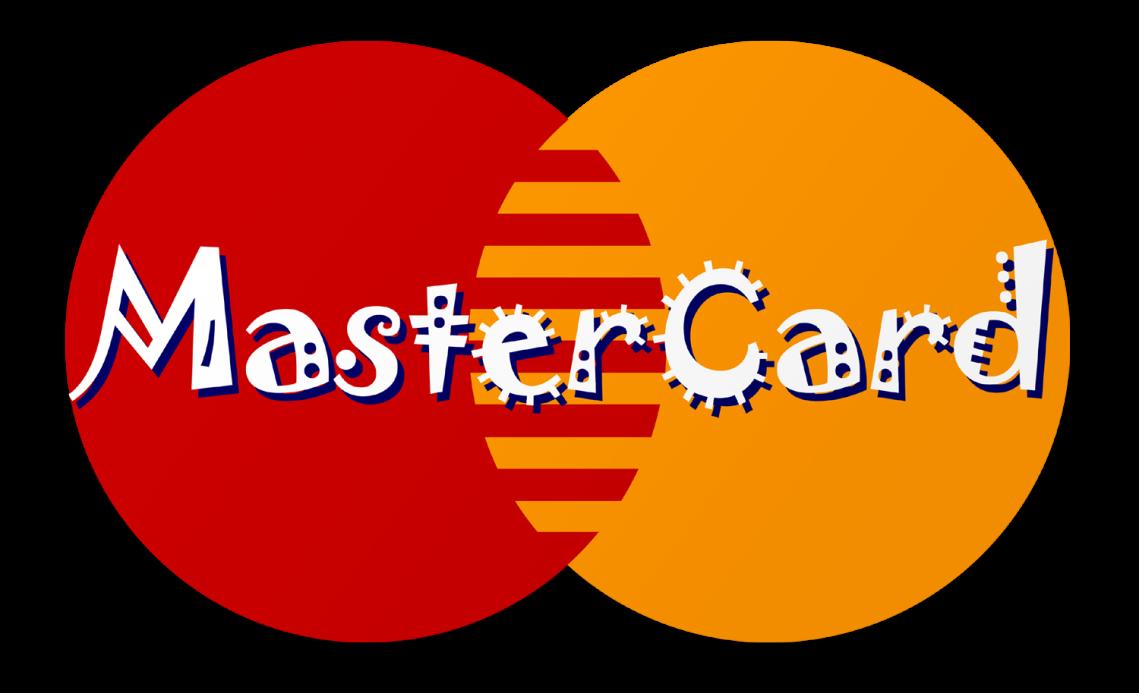 Misuse of fonts Mangled Mastercard Brand Identity