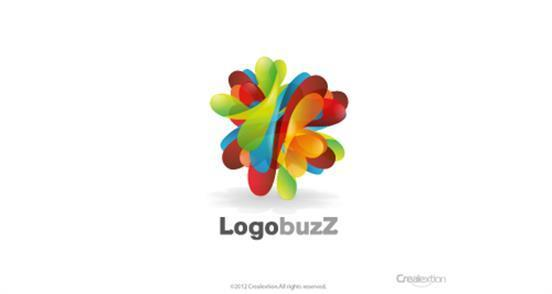 overly complex logo design for logobuzz