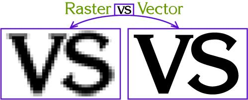 raster vs. vector image