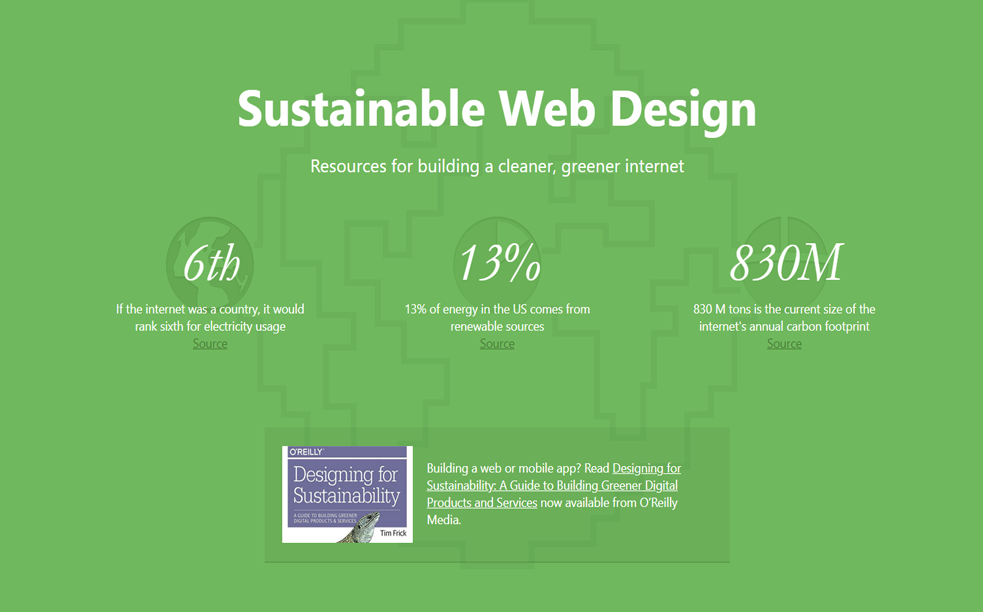 Sustainable Web Design